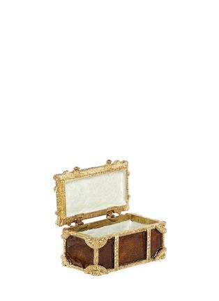 - LANE CRAWFORD - Treasure chest jewellery box