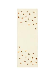 JanaviButterfly embellished cashmere scarf