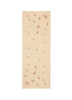 JanaviDragonfly embellished cashmere scarf