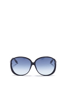 Victoria Beckham 'Large Fine Oval' acetate oversized sunglasses