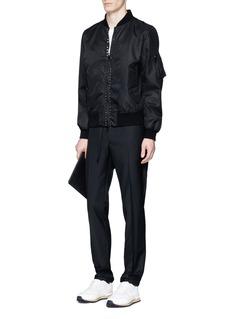 Valentino'Rockstud Untitled 15 Noir' bomber jacket