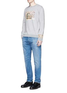 ValentinoCigar box print sweatshirt