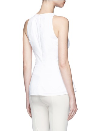 Back View - Click To Enlarge - The Row - 'Tallo' lace-up sleeveless top