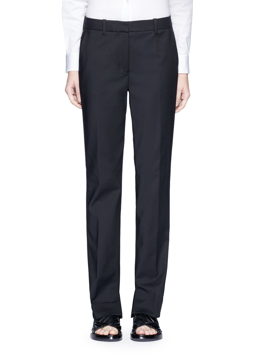 Tailored straight leg pants by 3.1 Phillip Lim