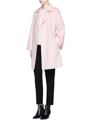 Figure View - Click To Enlarge - Ms MIN - Belted wool coat