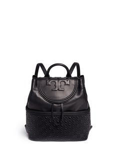 Tory Burch 'Fleming' quilted leather backpack
