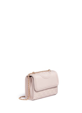 Detail View - Click To Enlarge - Tory Burch - 'Fleming' small convertible shoulder bag