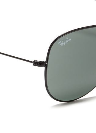 Detail View - Click To Enlarge - Ray-Ban - Flat metal aviator sunglasses