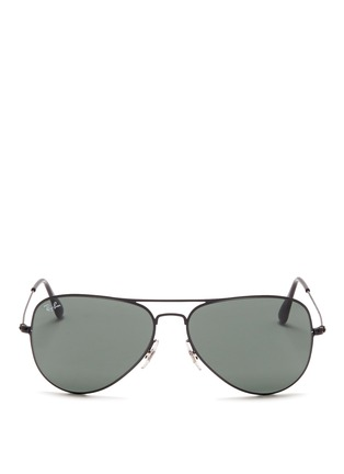 RAY-BAN - Flat metal aviator sunglasses