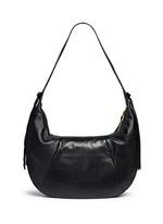 'Zoe' large leather hobo bag