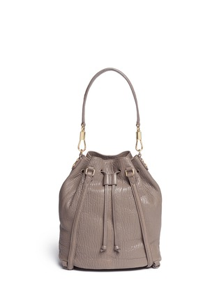 Back View - Click To Enlarge - Elizabeth and James - 'Cynnie Sling' grainy leather bucket bag