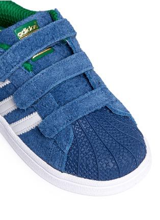 细节 - 点击放大 - BONPOINT - x adidas SUPERSTAR幼儿款运动鞋