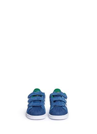 模特儿示范图 - 点击放大 - BONPOINT - x adidas SUPERSTAR幼儿款运动鞋
