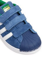 x adidas 'Superstar' leather kids sneakers
