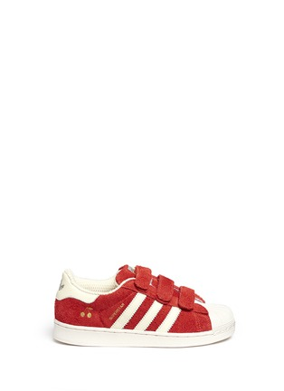 Main View - Click To Enlarge - Bonpoint - x adidas 'Superstar' leather kids sneakers