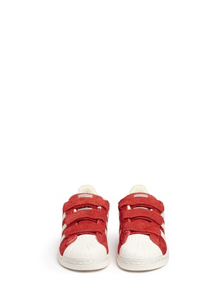 Figure View - Click To Enlarge - Bonpoint - x adidas 'Superstar' leather kids sneakers