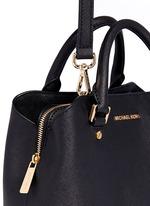 Savannah' small saffiano leather satchel