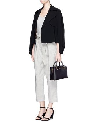 - Michael Kors - Savannah' small saffiano leather satchel