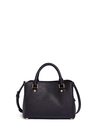 Back View - Click To Enlarge - Michael Kors - Savannah' small saffiano leather satchel