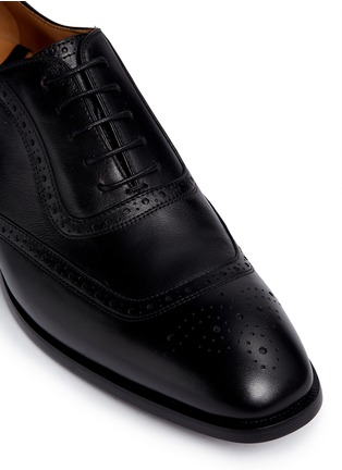Detail View - Click To Enlarge - Rolando Sturlini - 'Parma' full brogue leather Oxfords