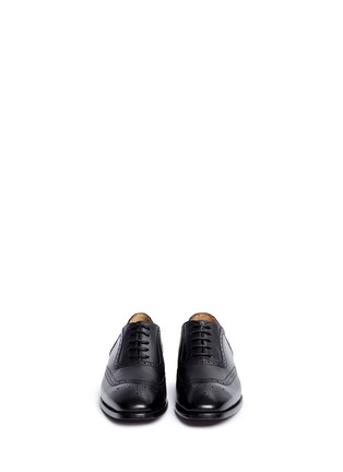 Front View - Click To Enlarge - Rolando Sturlini - 'Parma' full brogue leather Oxfords