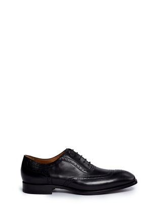 Main View - Click To Enlarge - Rolando Sturlini - 'Parma' full brogue leather Oxfords