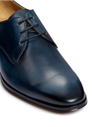 Detail View - Click To Enlarge - Rolando Sturlini - 'Alameda' burnished leather Derbies