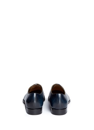 Back View - Click To Enlarge - Rolando Sturlini - 'Alameda' burnished leather Derbies