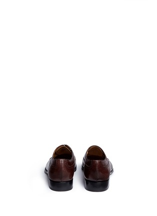 Back View - Click To Enlarge - Rolando Sturlini - 'Alameda' full brogue leather Oxfords