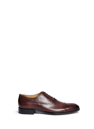 Main View - Click To Enlarge - Rolando Sturlini - 'Alameda' full brogue leather Oxfords