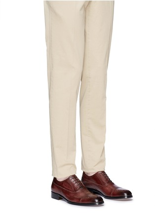Figure View - Click To Enlarge - Rolando Sturlini - 'Alameda' full brogue leather Oxfords