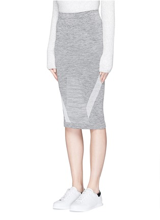 Front View - Click To Enlarge - LNDR - 'Compass' circular knit skirt
