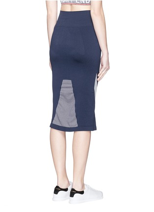 Back View - Click To Enlarge - Lndr - 'Compass' circular knit skirt