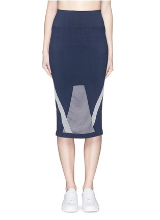 Main View - Click To Enlarge - Lndr - 'Compass' circular knit skirt