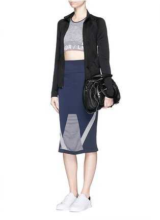 Figure View - Click To Enlarge - Lndr - 'Compass' circular knit skirt