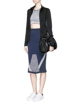 'Compass' circular knit skirt
