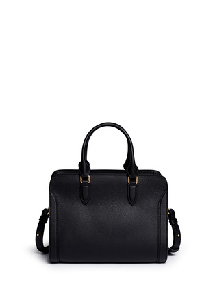 Back View - Click To Enlarge - Alexander McQueen - 'Padlock' skull pocket leather tote
