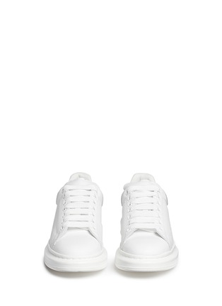 Figure View - Click To Enlarge - Alexander McQueen - Chunky outsole leather sneakers