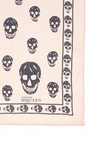 Classic skull silk chiffon scarf