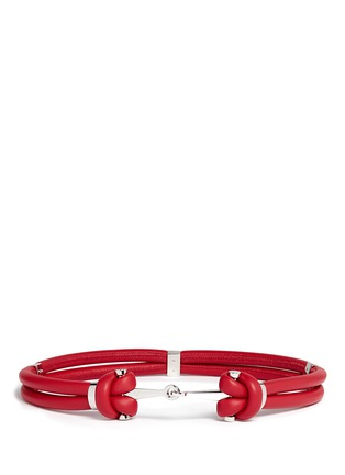 Main View - Click To Enlarge - Alexander McQueen - Leather rope belt