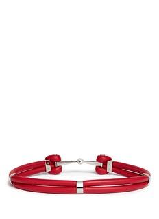 ALEXANDER MCQUEENLeather rope belt