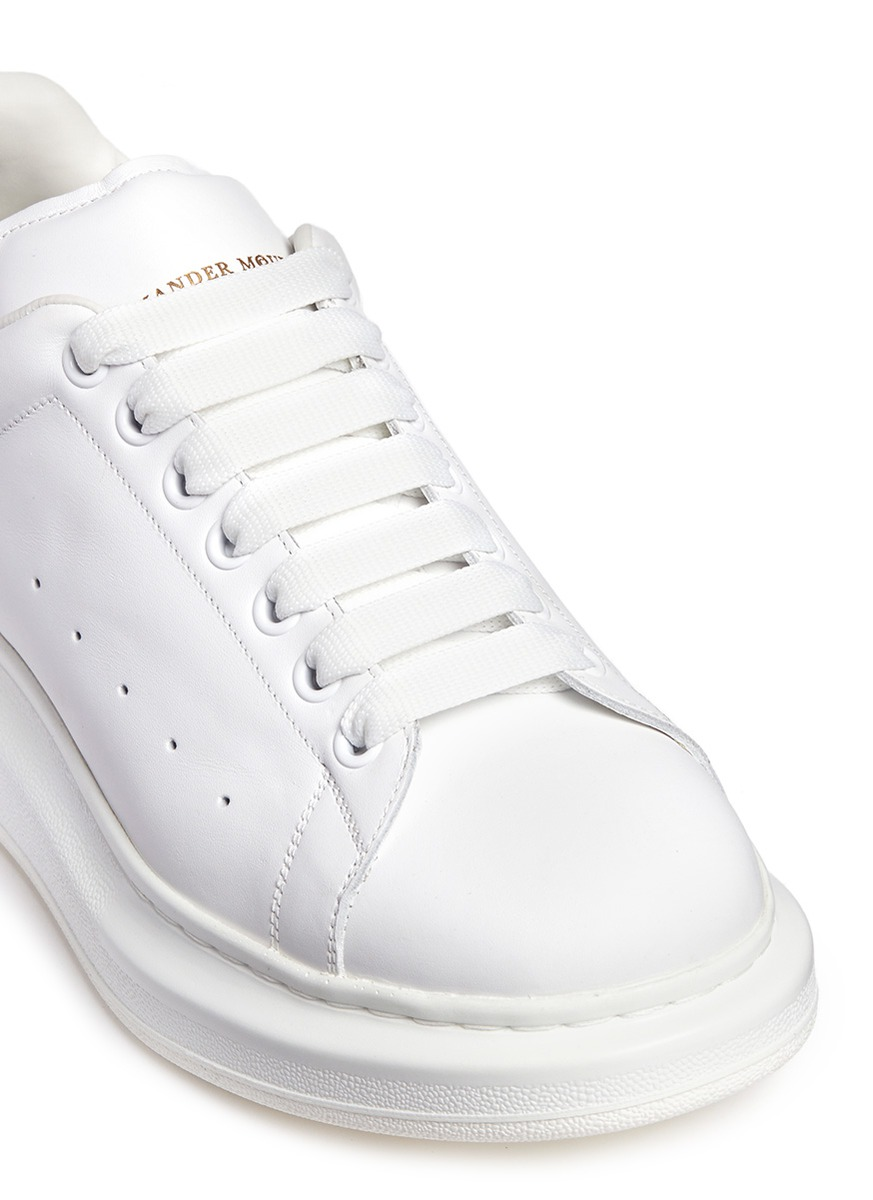Alexander Mcqueen Larry Chunky Outsole Leather