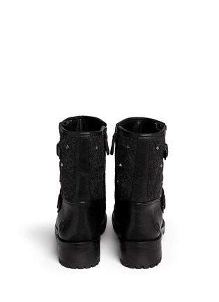 Back View - Click To Enlarge - Tory Burch - 'Chrystie' stud quilted leather boots