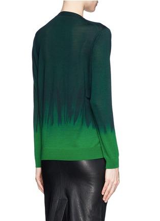 Back View - Click To Enlarge - Stella McCartney - Tie dye wool-silk sweater