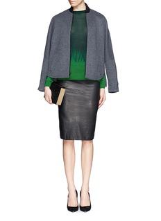STELLA MCCARTNEYTie dye wool-silk sweater