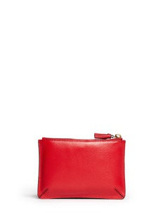 ANYA HINDMARCH'I Love You Loose Pocket' small leather pouch