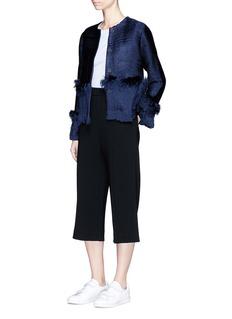 Xu ZhiBraided yarn frayed jacket
