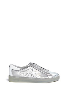 Michael Kors 'Frankie' snakeskin embossed leather sneakers