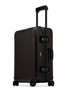 RIMOWA Topas Stealth Cabin Multiwheel® (Black, 34-litre)