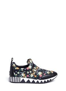 Tory Burch'Jupiter' floral print neoprene slip-on sneakers